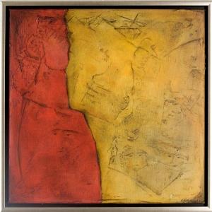 (2008) Zweisamkeit -60 X 60