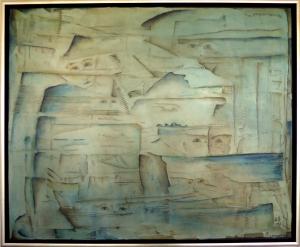 (2015)Blaue Stunde -100x80
