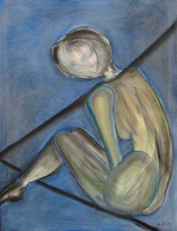 (1992)Frauenakt80x100